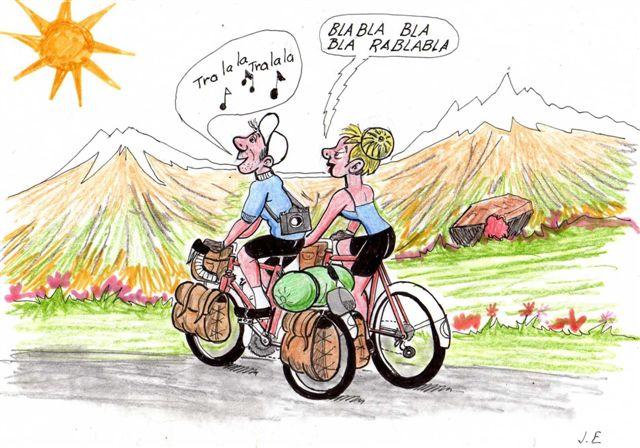 Cyclo montbrison cr r union bureau - Image coureur humoristique ...